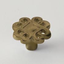 EBAN Riflesso, ручка-кнопка для мебели, Цвет бронза