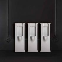 Kerasan Waldorf Писсуар напольный с сифоном и комплектом крепежей, цвет белый