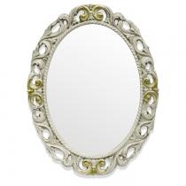 TW Зеркало в раме 72х92см, рама дерево, цвет слоновая кость/золото