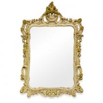 TW Зеркало в раме 71х107см, рама дерево, цвет слоновая кость/золото