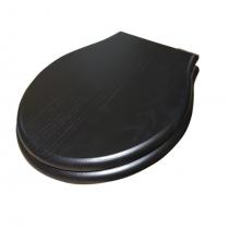 GLOBO Paestum Сиденье для унитазов деревянное (для PAS03, PA025, PA001,PA002,PA003, PA004), цвет черный дуб/хром с микролифтом