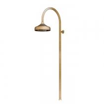Gattoni PD Душевая колонка с верхним душем 200мм, цвет бронза