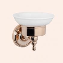 TW Bristol 106, подвесная мыльница, керамическая (белый), цвет держателя: светлое золото