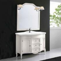 EBAN Rebecca Комплект мебели с зеркалом Sagomata, 110см, Цвет: BIANCO DECAPE