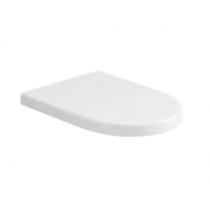 AZZURRA NUVOLA Сиденье для унитаза, цвет белый/хром (микролифт)