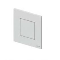 TECEnow Urinal. Панель смыва для писсуарас картириджем, 124х104х5 мм, черная