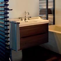 KERASAN Waldorf Комплект подвесной мебели 80см, с 1 ящиком и 1 дверцей, Цвета: noce