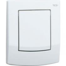 TECEnow Urinal. Панель смыва для писсуара с картриджем , белая с  антибактериальным покрытием