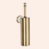 TW Harmony 220, ёршик подвесной в металлической колбе, цвет держателя: белый/бронза