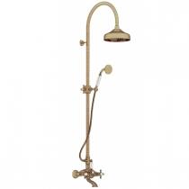 Gattoni Vivaldi Душевая стойка со смесителем для ванны, цвет бронза