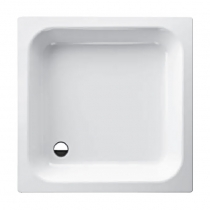 BETTE Душевой поддон квадратный 90х90хh15см, D52 мм, цвет белый