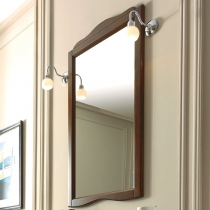 KERASAN Retro Зеркало в деревянной раме 63xh116см, цвет noce(орех)