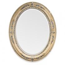 TW Зеркало в раме 81х101см, рама дерево, цвет слоновая кость/серебро