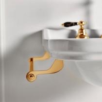 Kerasan Waldorf Полотенцедержатель бковой для раковин, 40см, цвет золото