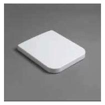 SIMAS Flow Сиденье для унитаза FL63 с микролифтом, цвет белый/хром