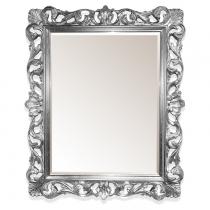 TW Зеркало в раме 85х100см, рама: дерево, цвет глянцевое серебро