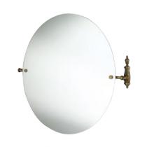 TW Retro Opal Зеркало круглое 68*66см, цвет держателя бронза