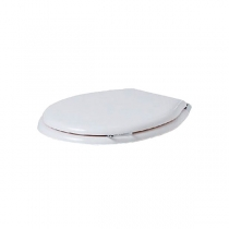 SIMAS Lante SIMAS Lante Сиденье для унитаза, с ручкой, цвет белый/хром, микролифт