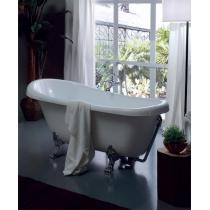 KERASAN Retro Ванна new 170х77/66см, глубина ванны 44,5см, цвет белый, ножки хром