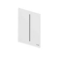 TECEfilo Панель  смыва  электронная для писсуара 100х150х7 мм, питание от батареи .стекло белое