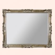 EBAN Luigi XV Зеркало 92x72см, цвет рамы серебро (argento)