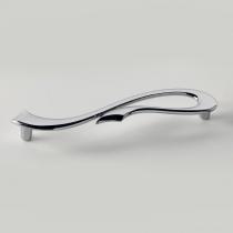 EBAN Riccio, ручка-скоба для мебели, Цвет: хром