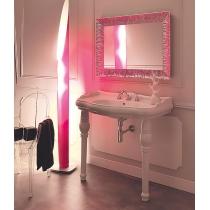 KERASAN Retro 100, раковина 100*54,5см с 1 отв. под смеситель, цвет: белый с керамическими ножками 2шт. цвет белый