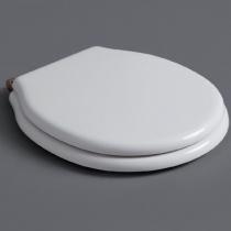 SIMAS Londra Сиденье для подвесного унитаза, цвет белый, петли бронза (микролифт)
