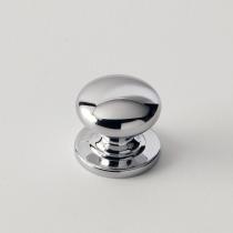 EBAN Tondo, ручка-кнопка для мебели, Цвет: хром