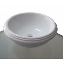 AZZURRA JUBILAEUM раковина круглая диаметр 45*h18см без отв-й под смеситель, цвет белый