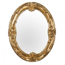 TW Зеркало в раме 106х86см, рама дерево, цвет золото