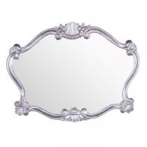 TW Зеркало в раме 91хh70см, рама:дерево, цвет глянцевой серебро
