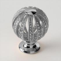 EBAN Mongolfiera ручка для мебели с кристаллами Swarovski, Цвет: хром