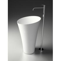 Раковина Antonio Lupi Tuba, напольная, D50,4*H90 см
