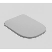 """Kerasan Tribeca Сиденье """"Slim"""" для унитаза c микролифтом цвет: белый"""