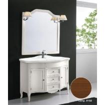 EBAN Rebecca Комплект мебели с зеркалом Sagomata, 110см, Цвет: NOCE