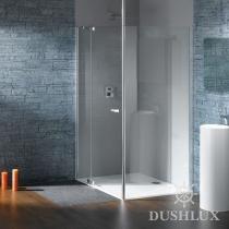 Huppe Studio Распашная дверь с неподвижным сегментом и боковой стенкой 070535