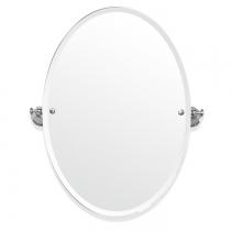 TW Harmony 021, вращающееся зеркало овальное 56*8*h66, цвет держателя: хром