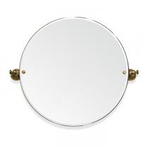 TW Harmony 023, вращающееся зеркало круглое 69*8*h60, цвет держателя: бронза