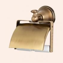 TW Harmony 219, держатель для т/б с крышкой, цвет держателя: бронза