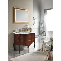 EBAN Sonia Комплект мебели, с раковиной и зеркалом 108 см, Цвет: NOCE