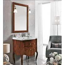 EBAN Sonia Комплект мебели 75 см с зеркалом Lusso, Цвет:NOCE