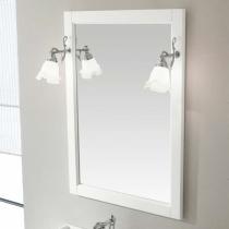 EBAN Lusso Зеркало в раме, цвета: bianco decape