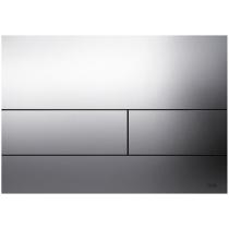 TECEsquare Панель смыва с двумя клавишами металлическая, сатин