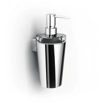 IBB Lapiana Дозатор для мыла стеклянный, цвет держателя хром