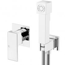 Gattoni PD Встроенный гигиенический душ с прямоугольным дизайном, хром