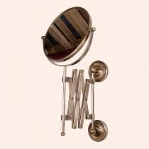TW Bristol 024, зеркало косметическое настенное, 2-х стороннее, цвет держателя: бронза
