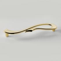 EBAN Riccio, ручка-скоба для мебели, Цвет: золото