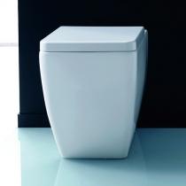 Kerasan Ego унитаз приставной 53см, белый с сиденьем на выбор