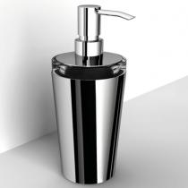 IBB Lapiana Дозатор для мыла настольный стеклянный, цвет основания хром